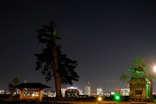 仙台の夜景の写真