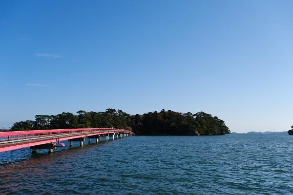 松島福浦橋の写真