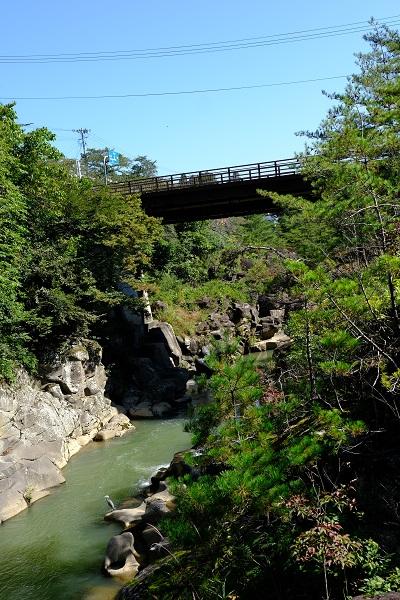 厳美渓の風景写真