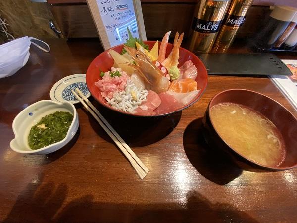 classic gateの海鮮丼の写真